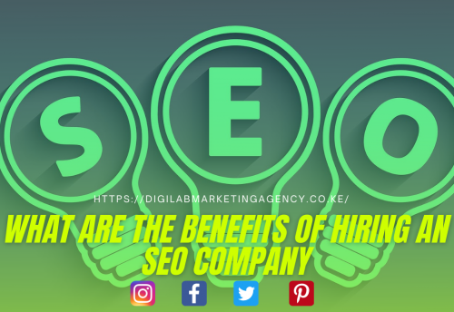 What are the Benefits of hiring an SEO Company