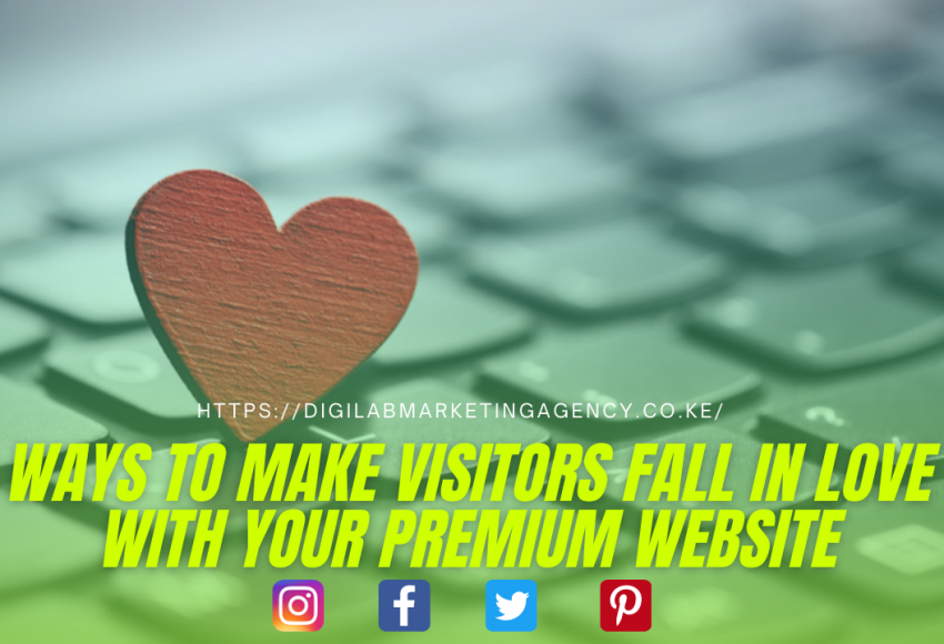 Ways To Make People Fall In love With Your Website