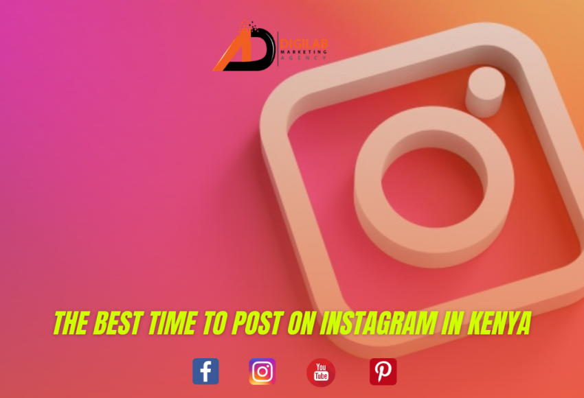 The Best Time To Post On Instagram in Kenya