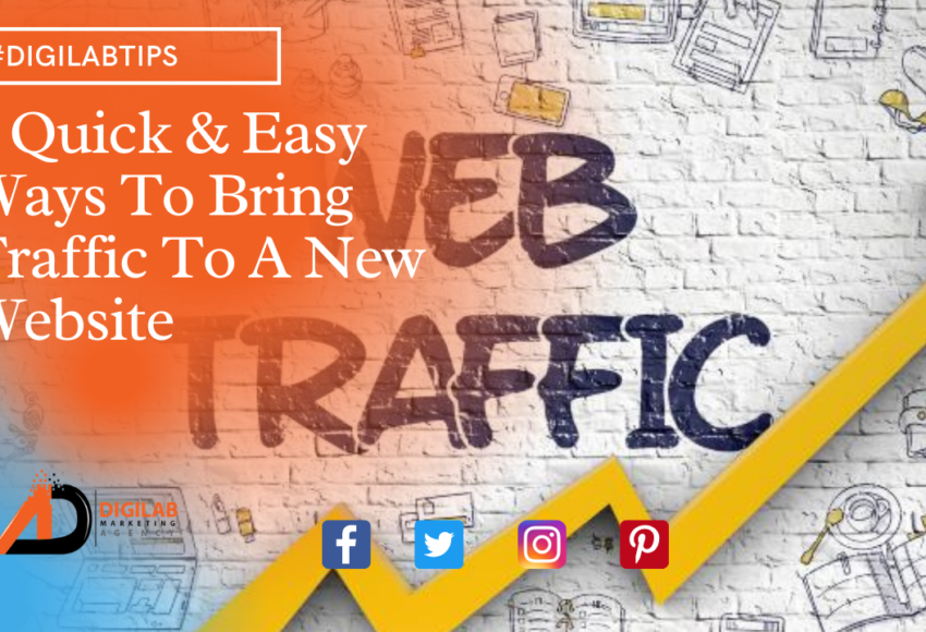 6 Quick & Easy Ways To Bring Traffic To A New Website