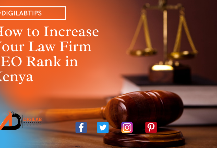 How to Increase Your Law Firm SEO Rank in Kenya